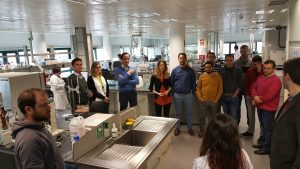 Visita participantes Máster en Tecnología y Gestión del Agua