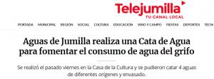 Noticia en TeleJumilla